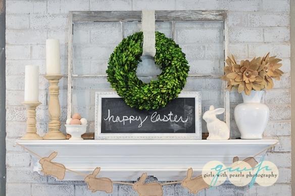 Spring Mantle, Easter Mantle