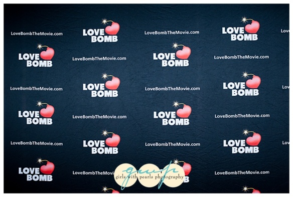 Love Bomb backdrop